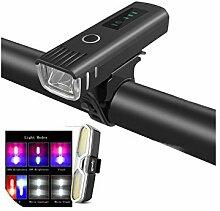 Big Incisors lumière de vélo LED rechargeable,