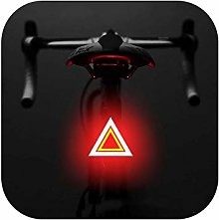 Big Incisors phare arrière rechargeable de vélo
