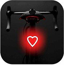 Big Incisors phare de vélo LED rechargeable USB,