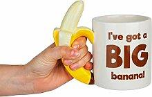 BigMouth Inc The Big Banana Tasse à café