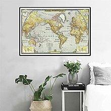 BIGSHOPART La Carte du Monde en 1943 Affiche