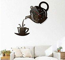 BINGTANGXUELI Co.,ltd Horloge Murale 3D Acrylique