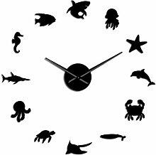 BINGTANGXUELI Co.,ltd Horloge Murale Créature De