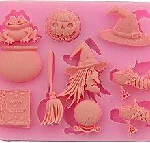 bingyu Accessoire de pâtisserie pour Halloween,