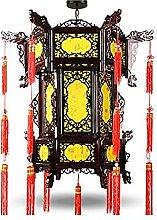 BINHC Lustre de Nouveauté: Lustre Chinois En Peau