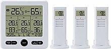 BIOBEY Thermomètre intérieur/extérieur sans fil