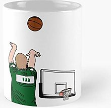Bird Larry Celtics Boston Legend Tasse en