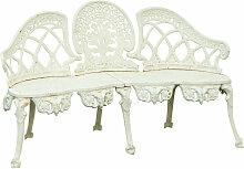 Biscottini - Banc en fonte de style Art Nouveau