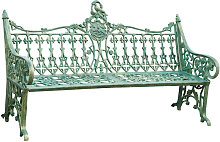 Biscottini - Banc style Art Nouveau en fonte