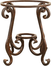 Biscottini - Base pour table en fer L62xPR62xH59 cm