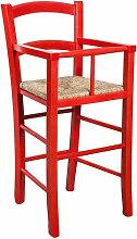 Biscottini - Chaise haute en bois pour table à