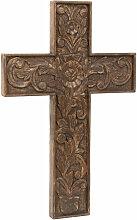 Biscottini - Croix en bois L43xPR4xH65 cm,