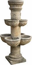 Biscottini - Fontaine avec 8 vasques en pierre,