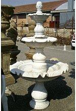 Biscottini - Fontaine en marbre diam.97xH180 cm