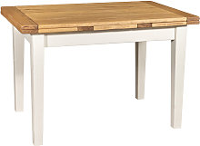 Biscottini - Table à rallonge style champêtre en