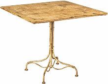 Biscottini - TABLE EN FER FORGÉ AVEC FINITION