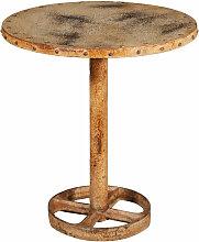 Biscottini - TABLE EN FINITION CRÈME ANTIQUE EN