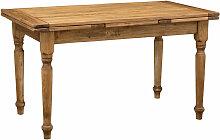 Biscottini - Table rallonge champêtre en bois