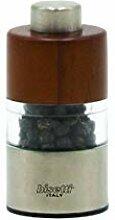 Bisetti 8640 Orta Mini Moulin à Poivre Walnut
