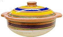 BITALY Marmite en argile Handi Biryani - Pour