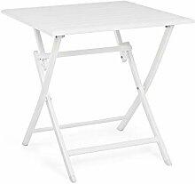Bizzotto Table pliante en aluminium