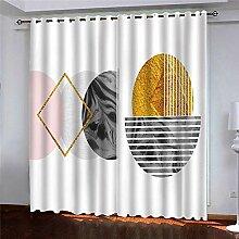 BKTTDS Rideau Salon Occultant Moderne - 3D
