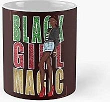 Black Girl Magic Histoire Mois Tasse classique