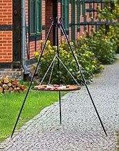 BlackOrange Barbecue suspendu 180 cm avec grille