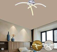 Blanc Chaud Plafonnier LED, Lampe de Lustre