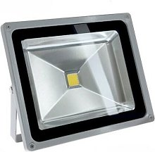 Blanc Chaud - Projecteur LED FIRST 12/24V DC - 50W