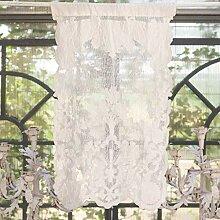 Blanc Mariclo - Brise bise Claque 45 x 70 cm en Lin