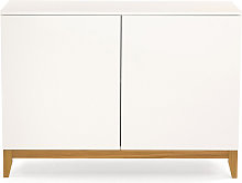 Blanco - Buffet design 2 portes