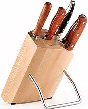 Bloc de couteaux Porte-bois Couteau de cuisine