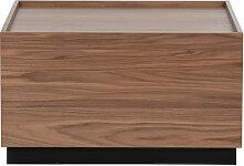 Block - Table basse carrée en pin massif
