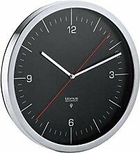 Blomus Horloge Radio-pilotée 65895 - Noir - 24 x