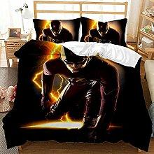 BLSM Parure de lit en microfibre Motif Marvel Hero
