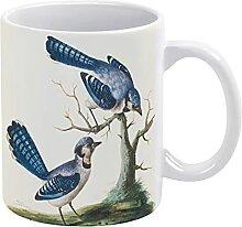 Blue Jays Tasse en céramique pour café, thé, lai