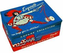 Blue Q Boîte à cigares Couture Multicolore