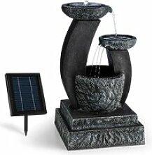 Blumfeldt Fontaine décoration jardin 3W solaire