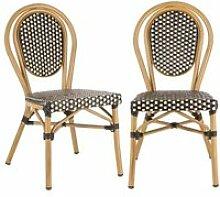 Blumfeldt montpellier bl lot de 2 chaises de