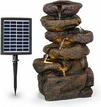 Blumfeldt savona fontaine solaire de jardin en