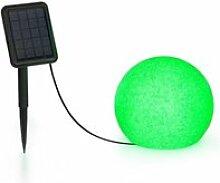 Blumfeldt shinestone solar 20 - lampe ø 20cm pour