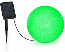 Blumfeldt shinestone solar 30 - lampe ø 30cm pour