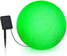 Blumfeldt shinestone solar 50 - lampe ø 50cm pour