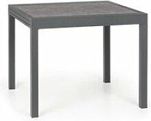 Blumfeldt tenerife table de jardin extensible pour