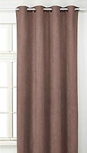 BNG Rideau suédine Aspect Alcantara 280 x 140cm