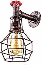 boaber Lampe De Mur De Style Industriel/Rétro De