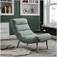 Bobochic fauteuil stavanger gris