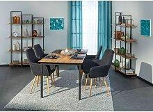 Bobochic - Lot de 2 fauteuils de table MELVA