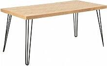 Bobochic - Table à manger 160 cm MAIDE placage